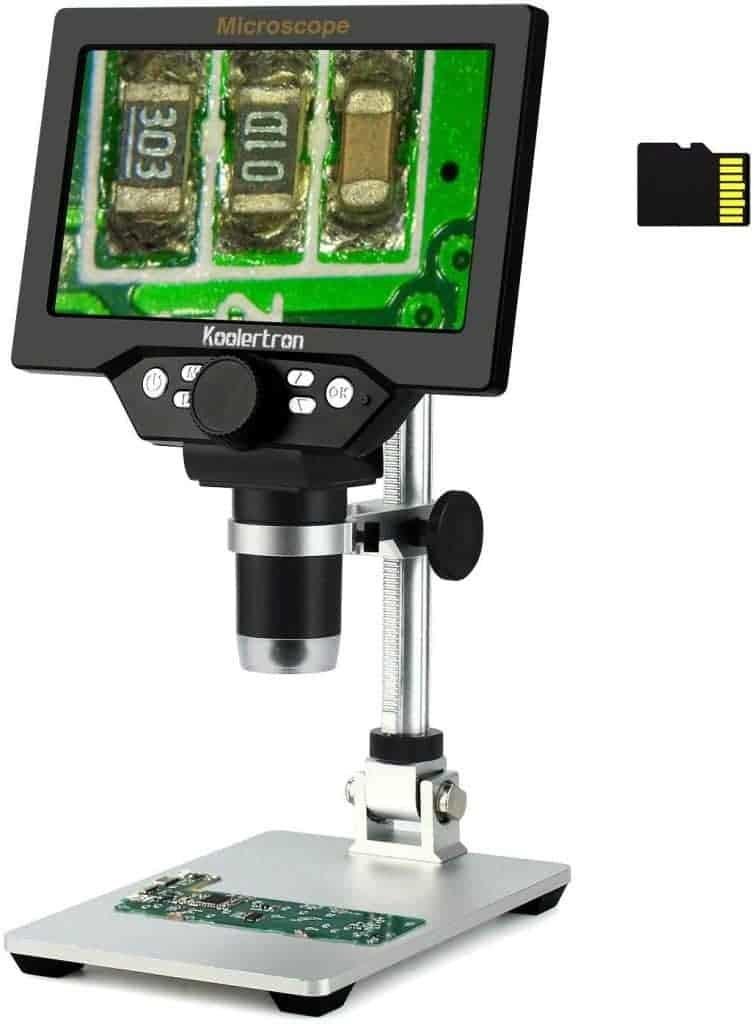 digital stamp magnifier